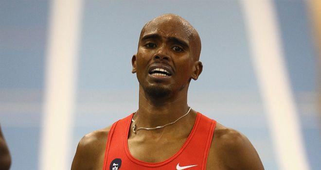 Mo Farah: British athlete set European indoor record for two miles in Birmingham