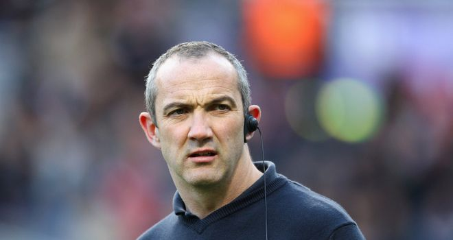 Conor O'Shea: Upset with Newcastle's rough approach