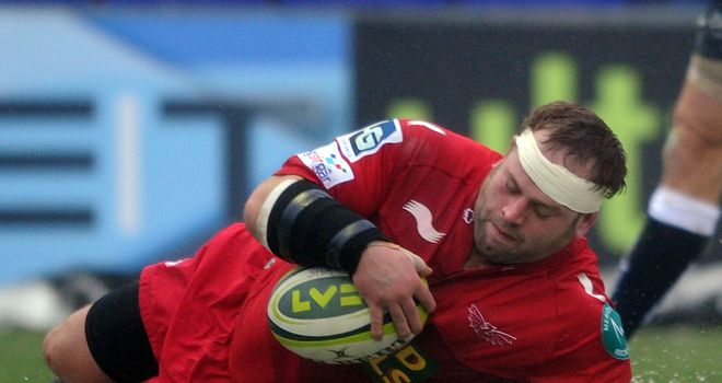 Peter Edwards: Re-signed for Scarlets
