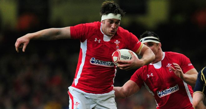 Ryan Jones: Wales forward has twice previously won the Grand Slam