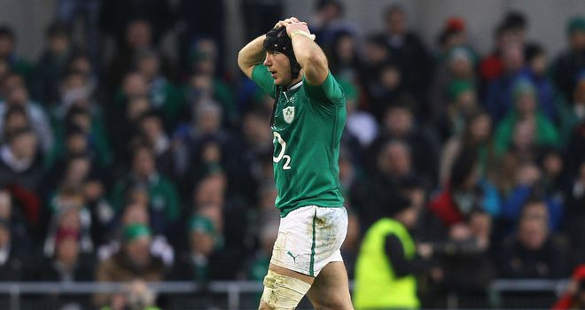 Stephen Ferris: Will face no further action for tackle on Evans
