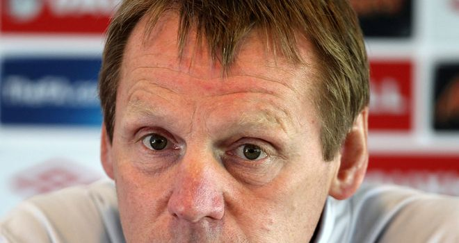 Stuart Pearce: England caretaker boss would be happy to lead side at Euro 2012