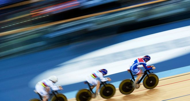 GB women's team pursuit squad: Going for gold in Friday night's final