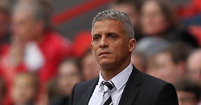 Curle: Bemoaned Arquin red card