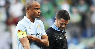 Kompany: Takes the armband for our Manchester XI