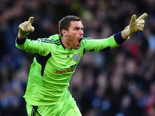 Ben Foster: Pens permanent West Brom deal