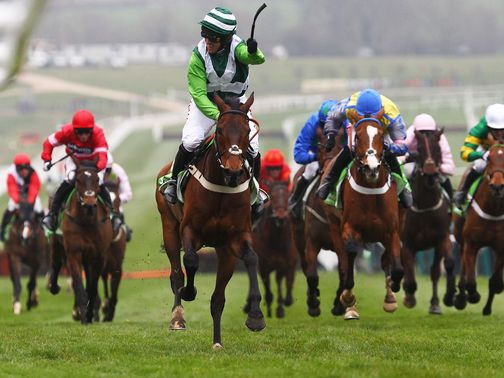 Rock On Ruby wins the 2012 Champion Hurdle