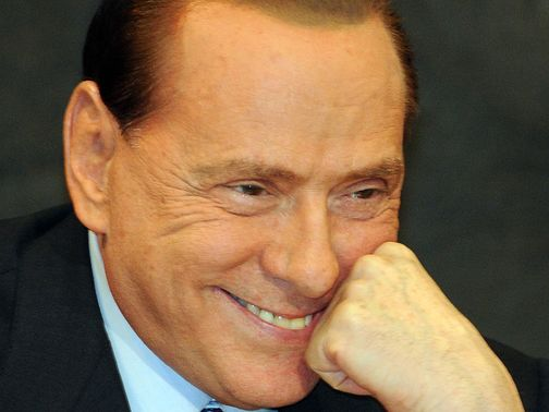 Silvio Berlusconi: Proud of AC Milan's players for making a protest