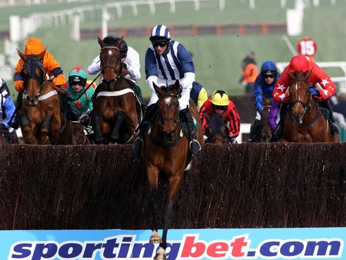 Teaforthree wins last year's National Hunt Chase