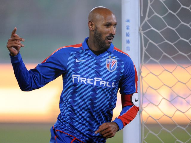 Nicolas Anelka: Currently playing in China