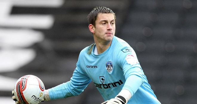Alex Cisak: Oldham goalkeeper is off to Turf Moor to join Burnley