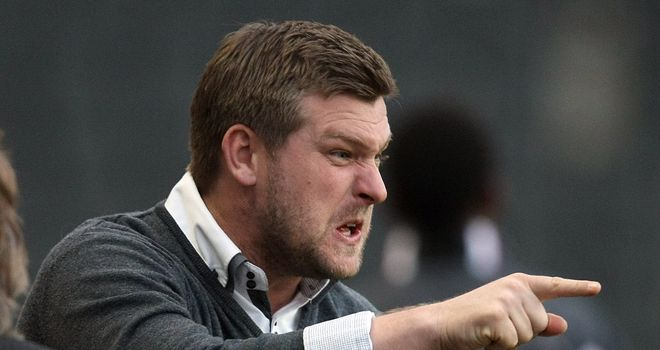 Karl Robinson: Ready to shake-up Dons