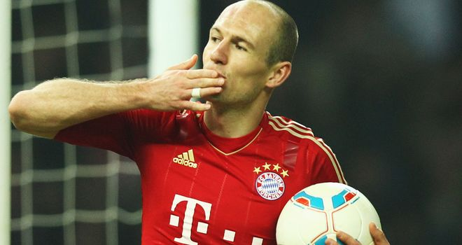 Arjen Robben: Scored Bayern Munich's match-winner against Nurnberg