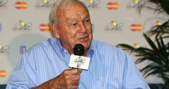 Arnold Palmer: Disappointed by lack of international interest at event
