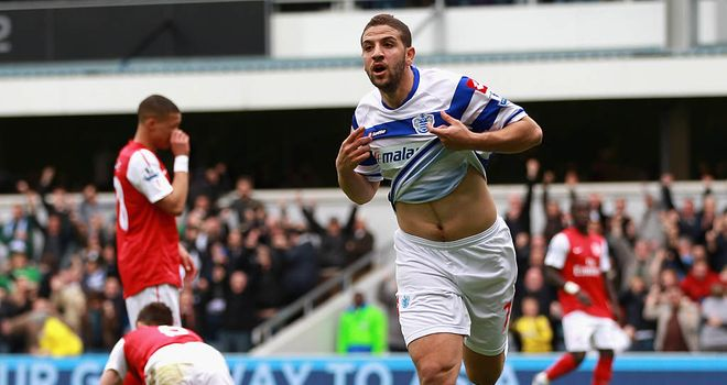 Adel Taarabt: Has been challenged by his boss Mark Hughes to 'harness' his talents to help guide the club to safety