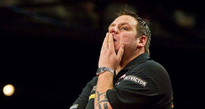 Lewis: ponders his problems in Glasgow last week