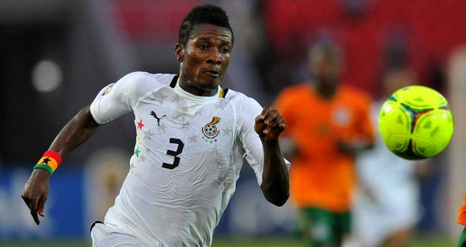 Asamoah Gyan: Set to finalise move to Middle East