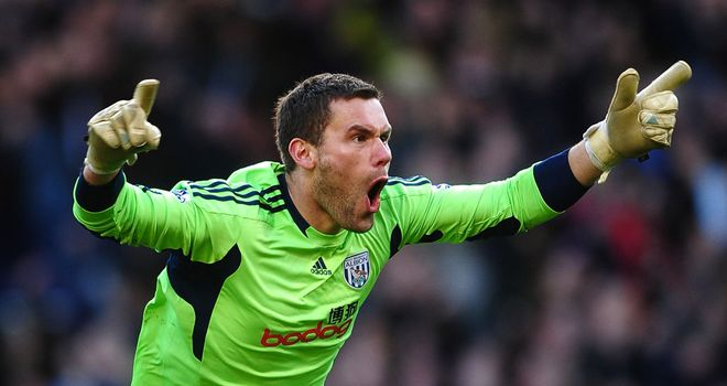 Ben Foster: West Brom are hoping to agree a fee with Birmingham to sign the goalkeeper