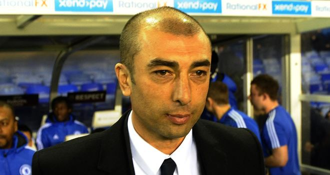 Roberto Di Matteo says the Chelsea players know what target they have
