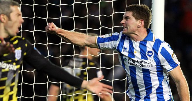 Sam Vokes: Striker enjoying his loan spell at Brighton and is unsure of his future at Wolves