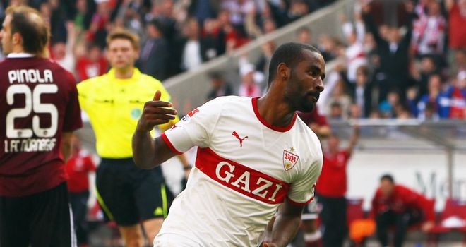 Cacau: Scored the winner for Stuttgart against Cologne on Sunday