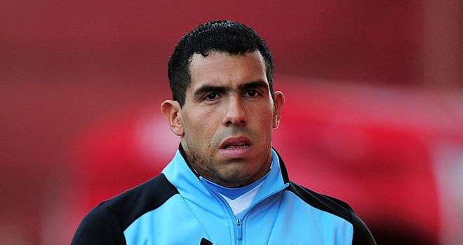 Argen-time: City must start Tevez against Arsenal, says Merse