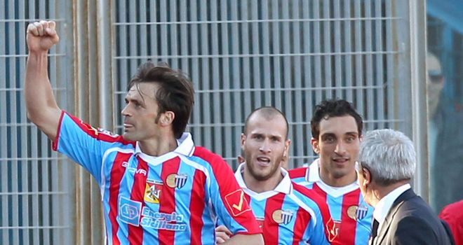 Nicola Legrottaglie (left): Could join the A League once his contract expires
