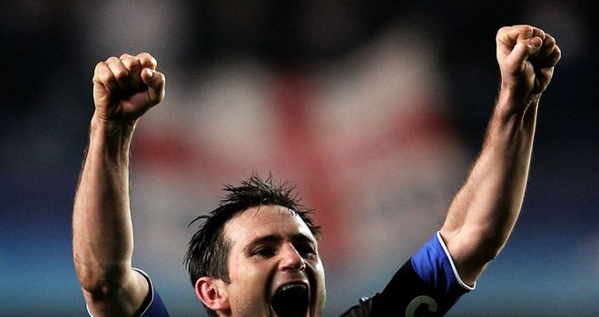 Frank Lampard: Says the old guard hold the key to Chelsea's hopes of European glory