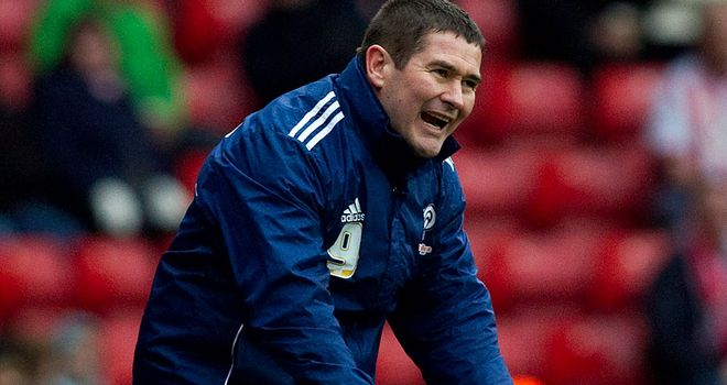 Nigel Clough: Absolved keeper from blame