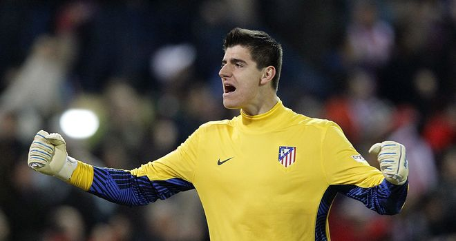 Thibaut Courtois: Chelsea goalkeeper to remain on loan with Atletico Madrid