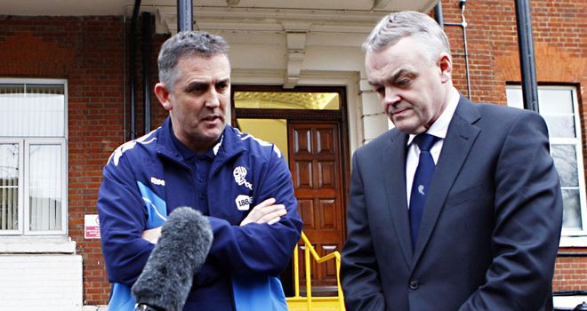 Phil Gartside: Keen for Owen Coyle to remain as Bolton boss despite relegation