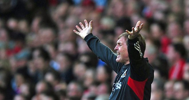 Kenny Dalglish: Will find himself back in familiar surroundings on Sunday