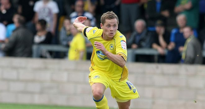 Danny Stevens: On the scoresheet for Torquay