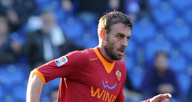 Daniele De Rossi: Not for sale but Roma would be prepared to consider a decent offer