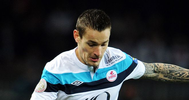 Mathieu Debuchy: Lille firm over his position amid reported Newcastle interest