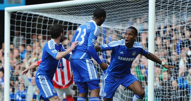 Didier Drogba: Will see his Chelsea contract expire at the end of the season