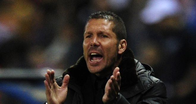 Diego Simeone: Won't discuss Atletico Madrid's title chances