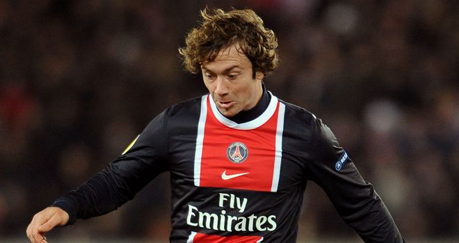 Diego Lugano: Will see out his contract with PSG before returning to South America