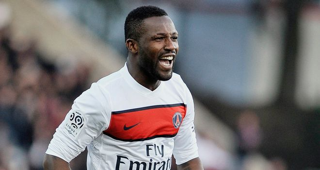 Tiene Siaka: Has made the move from PSG to Montpellier