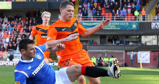 John Rankin: Verbally agreed a new deal at Dundee United