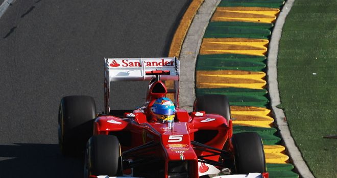 Fernando Alonso: Salvaged fifth place for Ferrari in the Australian Grand Prix