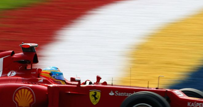Fernando Alonso: Reckons Ferrari have more qualifying pace