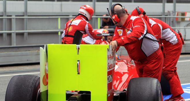 Ferrari have struggled in pre-season testing