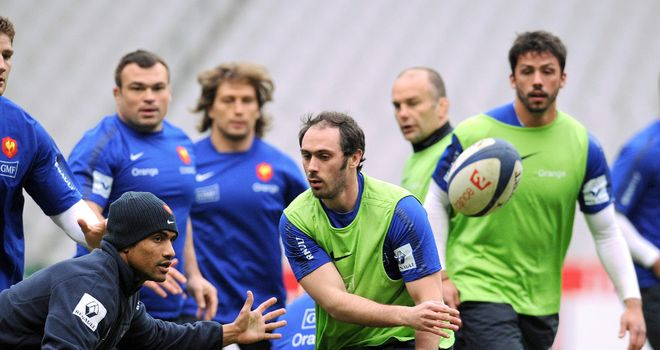 Julien Dupuy: Looking forward to facing England on Sunday after his recall to the France side