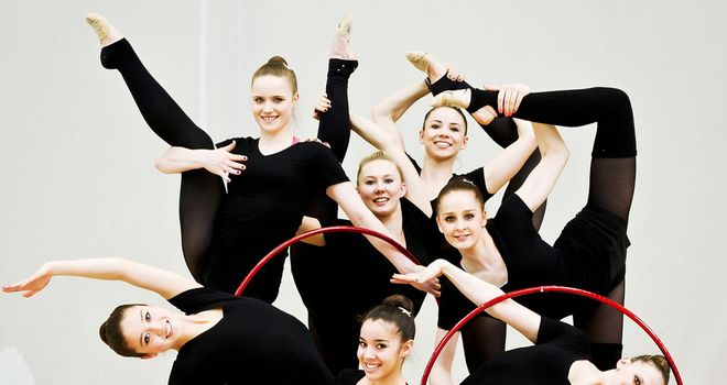 The rhythmic gymnastics team: Stronger than ever
