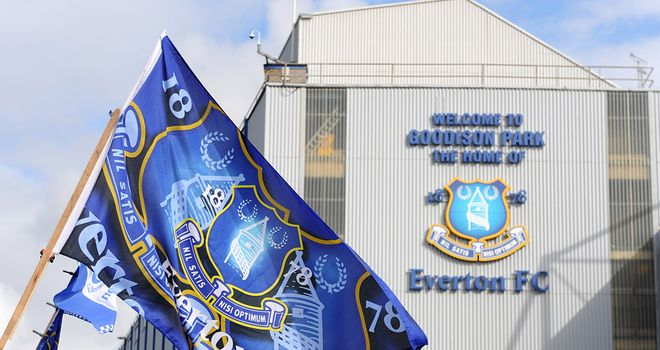 Goodison Park: Everton's home