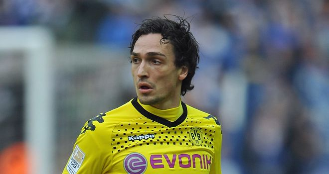 Mats Hummels: Has signed a five-year deal with the Bundesliga champions