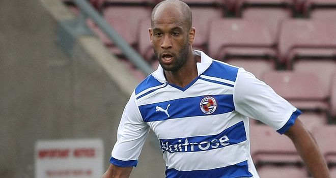 Jimmy Kebe: Reading have taken up option to extend his contract