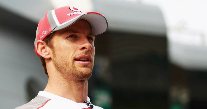 Button: Says he's not as relaxed as people think