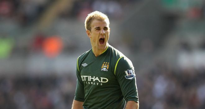 Joe Hart: Studies every move from Iker Casillas to be the world's best